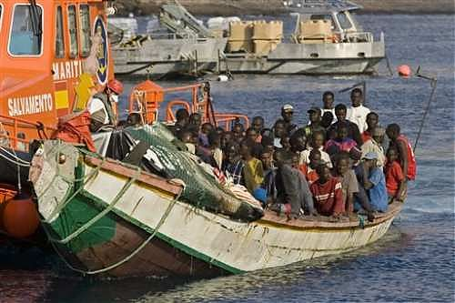 Imigrancji z Afryki