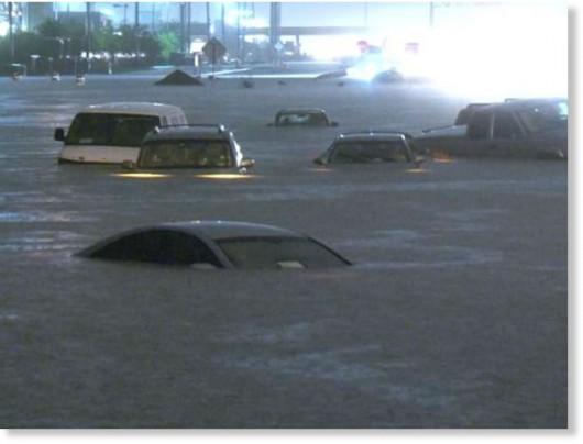 Kalifornia - Ulewne deszcze podczas suszy 3
