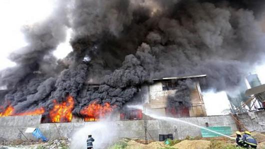 Manila, Filipiny - Pożar w fabryce obuwia, zginęło co najmniej 31 osób, na dziesiątki uznano za zaginione 4