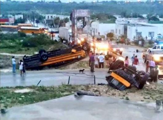 Meksyk - Potężne tornado przeszło przez graniczne miasto Ciudad Acuna 3