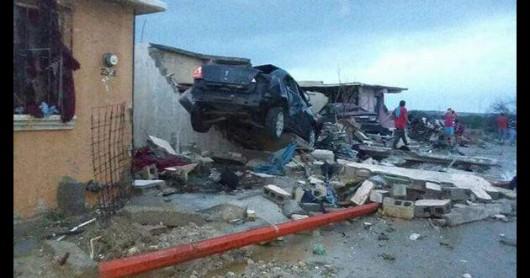 Meksyk - Potężne tornado przeszło przez graniczne miasto Ciudad Acuna 5
