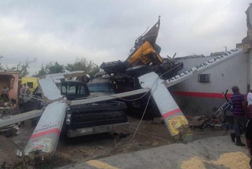 Meksyk - Potężne tornado przeszło przez graniczne miasto Ciudad Acuna 7