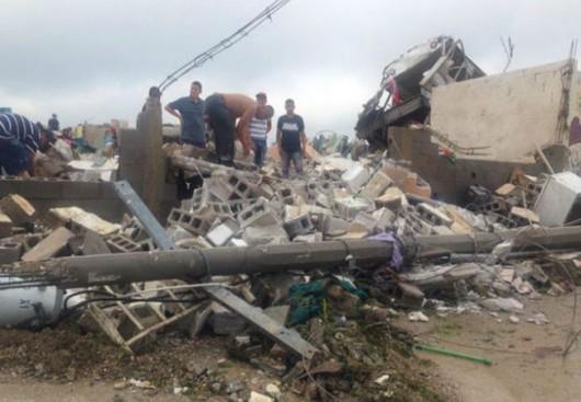 Meksyk - Potężne tornado przeszło przez graniczne miasto Ciudad Acuna 8