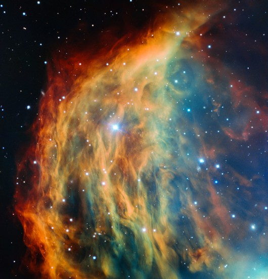 Mgławica Meduza na obrazie z teleskopu VLT /ESO /