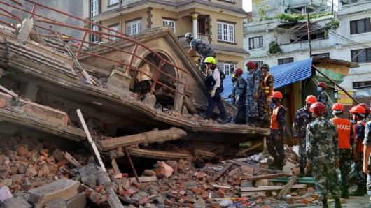 Nepal - Trzęsienie ziemi 2