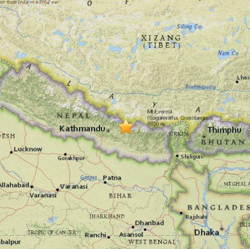 Nepal trzęsienie ziemi12.05.2015