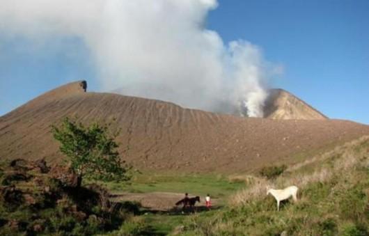 Nikaragua - Od niedzieli wystąpiło 46 erupcji wulkanu Telica 1