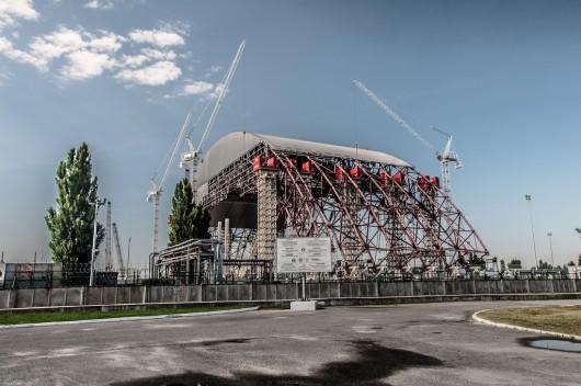 Nowy sarkofag w Czarnobylu