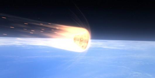 Obiekt wpadający w atmosferę