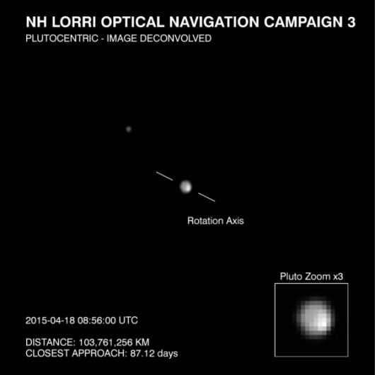 Pierwsze ujęcia Plutona wykonane przez New Horizons 2