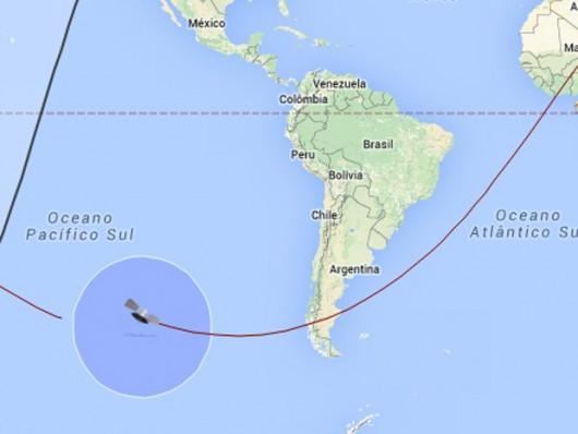 Rosyjski statek kosmiczny Progress M-27M spłonął w atmosferze nad Pacyfikiem 2