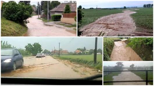 Słowacja - Ulewne deszcze zalały domy i drogi 3