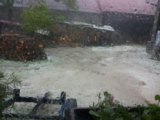 Słowacja - Utworzyła się superkomórka burzowa i spadło rekordowo dużo deszczu 2
