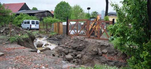 Słowacja - Utworzyła się superkomórka burzowa i spadło rekordowo dużo deszczu 4