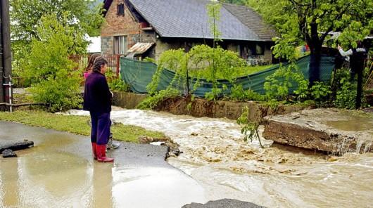Słowacja - Utworzyła się superkomórka burzowa i spadło rekordowo dużo deszczu