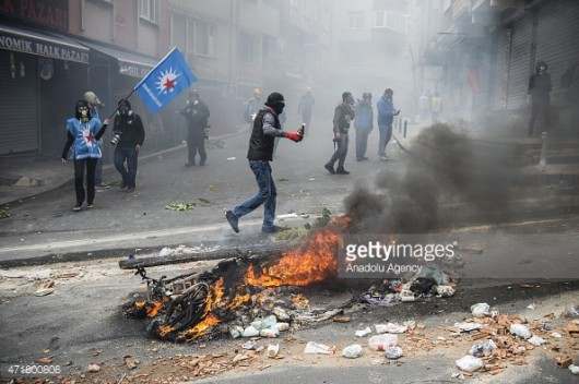 Stambuł, Turcja - Antyrządowe starcia z policją 3