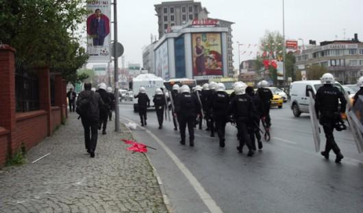 Stambuł, Turcja - Antyrządowe starcia z policją 4