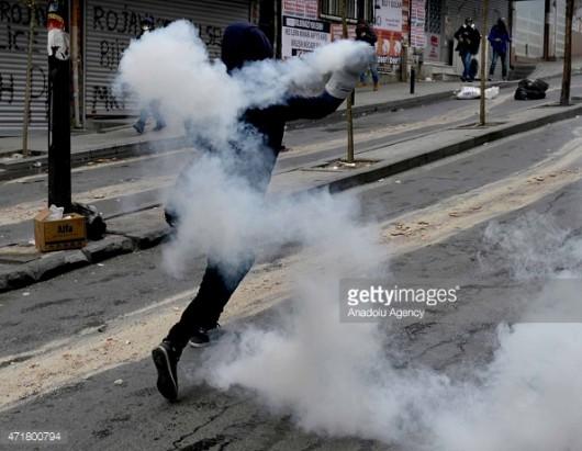 Stambuł, Turcja - Antyrządowe starcia z policją 5