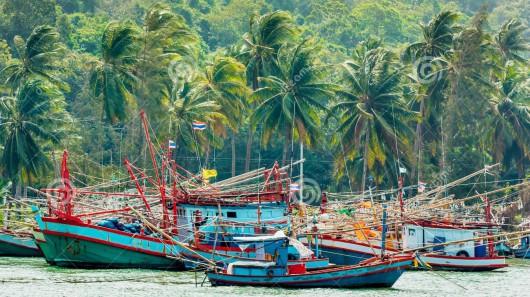 Statki rybackie - Tajlandia