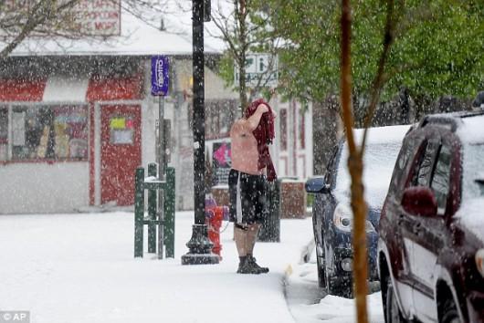 USA - Śnieg w Kalifornii 1