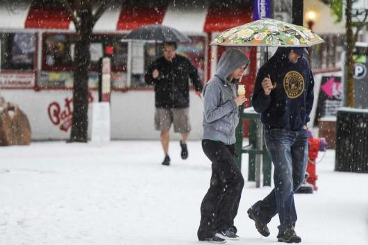 USA - Śnieg w Kalifornii 2