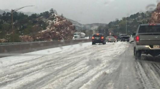 USA - Śnieg w Kalifornii 3