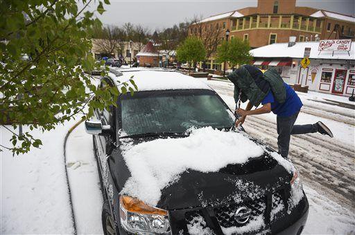 USA - Śnieg w Kalifornii 5