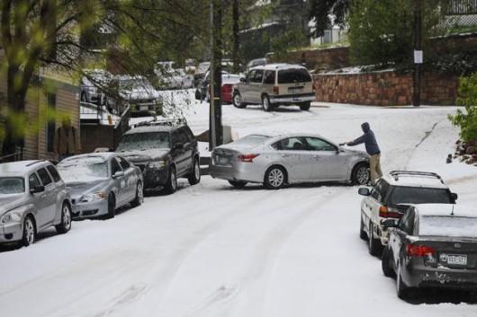 USA - Śnieg w Kalifornii 7