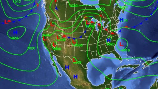 USA - Nad wschodnie wybrzeże nadciągnie nowe zjawisko pogodowe, nazwane zostało cyklonem podzwrotnikowym 3