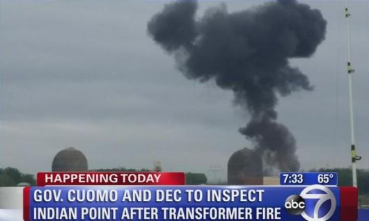 USA - Pożar transformatora w elektrowni atomowej Indian Point