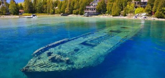 USA - Tajemnicze wraki statków z XIX i XX wieku na dnie jeziora Michigan 2