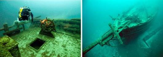 USA - Tajemnicze wraki statków z XIX i XX wieku na dnie jeziora Michigan 3