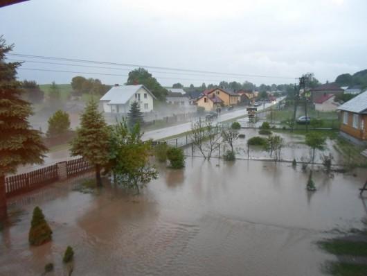 Ulewne deszcze - Polska