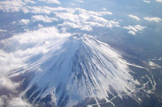 Wulkan Fudżi w Japonii