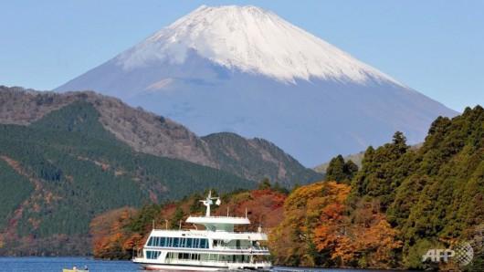 Wulkan Hakone - Japonia
