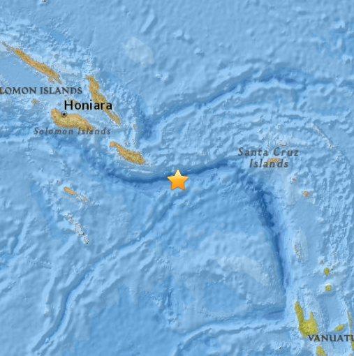 Wyspy Salomona - trzęsienie ziemi