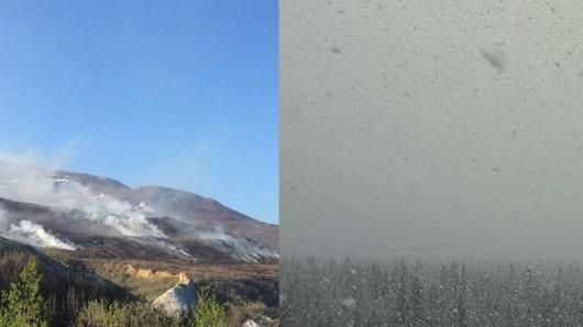 Alaska - Rekordowo ciepło i rekordowo zimno w ciągu tygodnia / www.weather.com