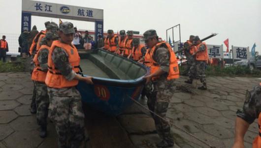 Chiny - Potężna akcja ratunkowa na na rzece Jangcy, zatonął statek pasażerski z 457 osobami na pokładzie 2