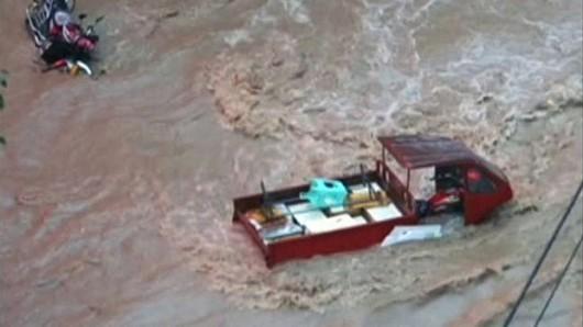 Chiny - W prowincji Syczuan wystąpiła największa powódź od 17 lat 6