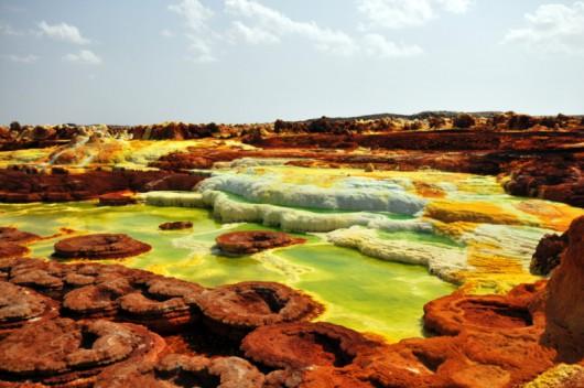 Dallol Volcano (Etiopia)