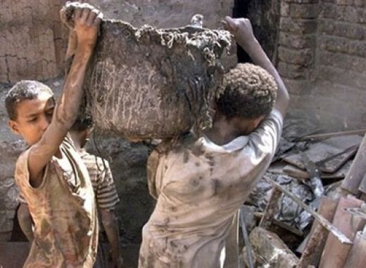 Dzieci zmuszane do pracy 2