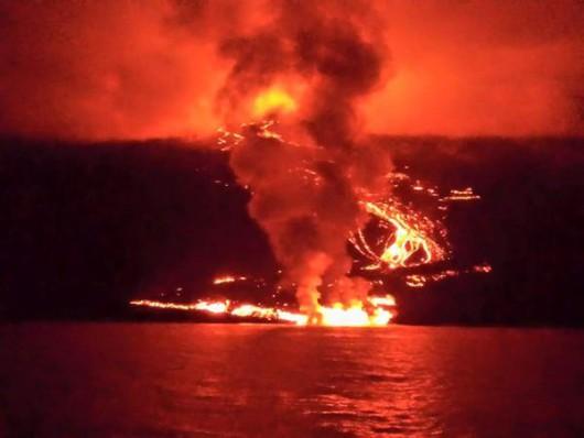 Erupcja wulkanu Wolf