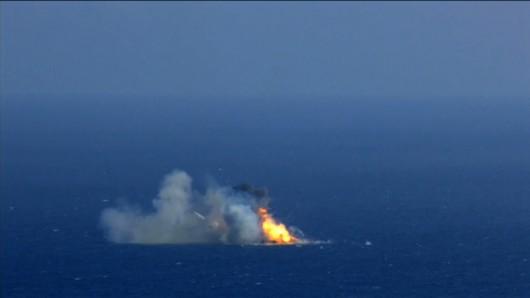 Falcon 9 eksplodował