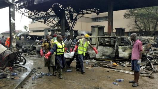 Ghana - Wybuch na stacji benzynowej, zginęło co najmniej 150 osób 2