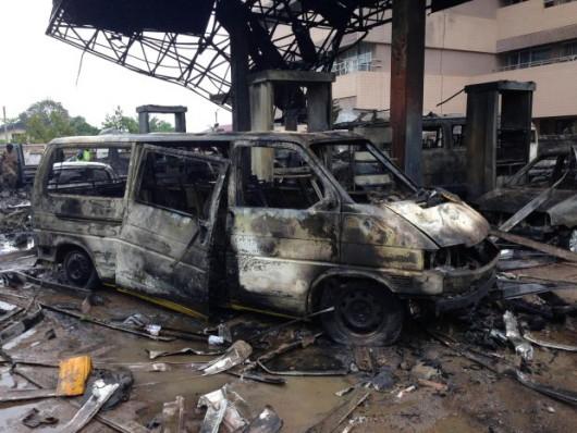 Ghana - Wybuch na stacji benzynowej, zginęło co najmniej 150 osób 4