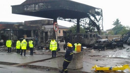 Ghana - Wybuch na stacji benzynowej, zginęło co najmniej 150 osób