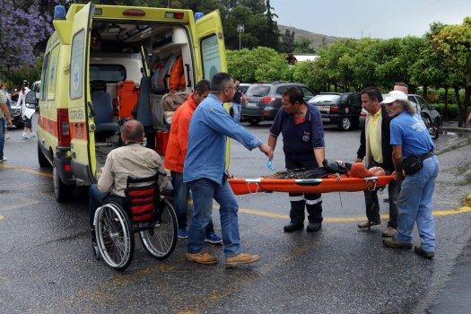 Grecja - Piorun uderzył w grupę rosyjskich turystów
