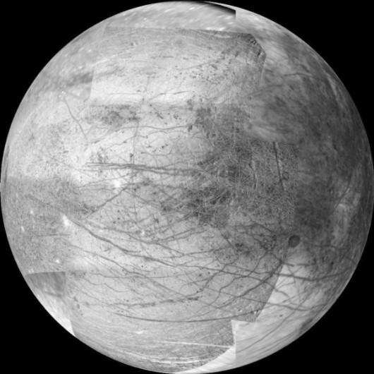 Europa - Jeden z księżyców Jowisza