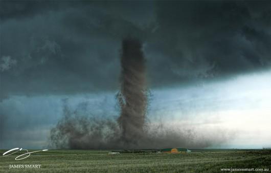 Kolorado, USA - Kilka tornad zniszczyło 30 domów 8