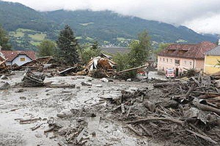 Lawiny błotne - Austria 4